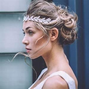 Coiffure Femme Pour Mariage : les plus beaux accessoire cheveux de mariage marie claire ~ Dode.kayakingforconservation.com Idées de Décoration