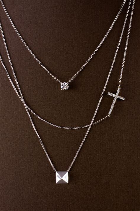 diamond stud necklace crafty design necklace inspiration
