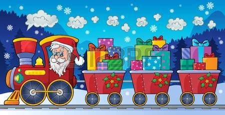 christmas train clipart clipground