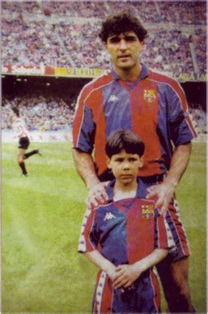 FC Barcelona football players