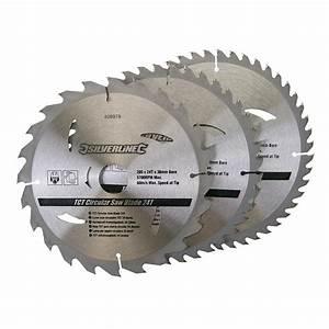 Lame De Scie Circulaire Diametre 250 Alesage 30 : 3 lames pour scie circulaire 205 x 30 mm 24 40 48 ~ Edinachiropracticcenter.com Idées de Décoration