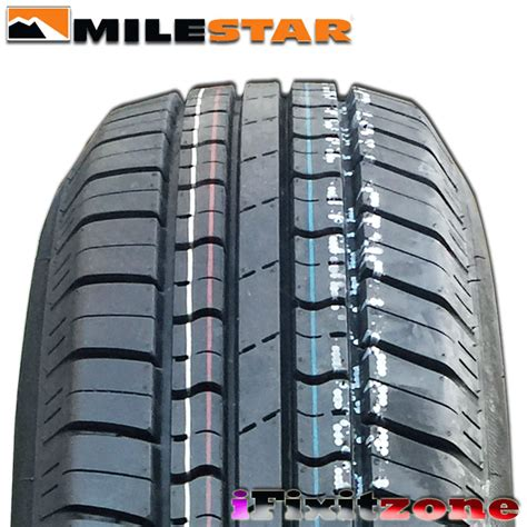4 milestar ms775 p195 75r14 92s quot white wall quot all season tires new ebay