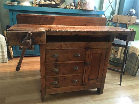 antique carpenters work bench ebay