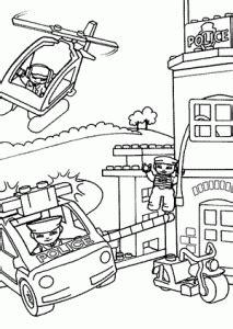 lego police coloring page  kids printable  lego duplo