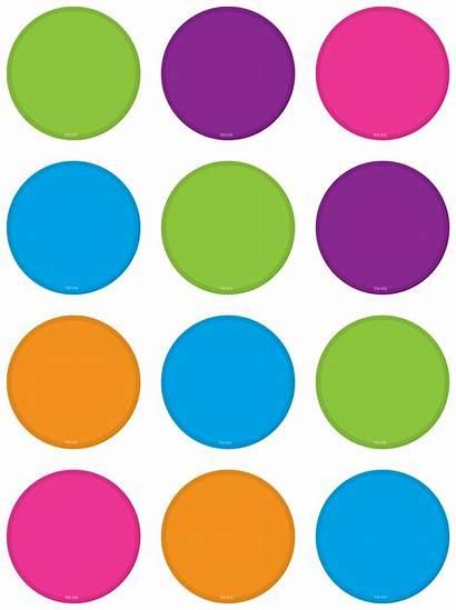 Circles Bright Mini Accents Colors