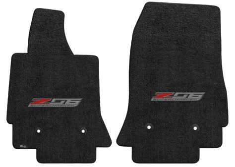 Lloyds Floor Mats C7 by C7 Corvette Z06 Lloyd Front Embroidered Floor Mats