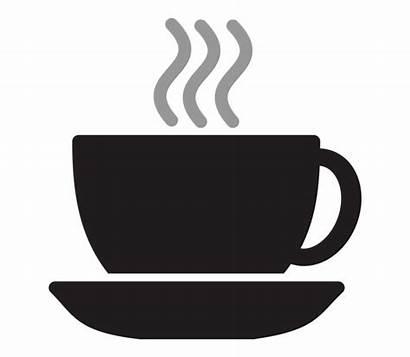 Cup Steam Tea Clipart Silhouette Coffee Clip