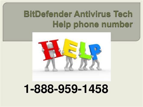 bitdefender tech support phone number