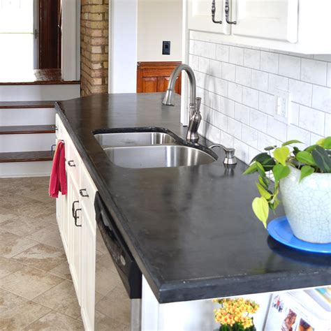 concrete countertops diy hometalk easy diy concrete counters the missing link