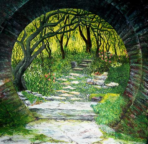 bedroom ideas enchanted garden painting by shinn