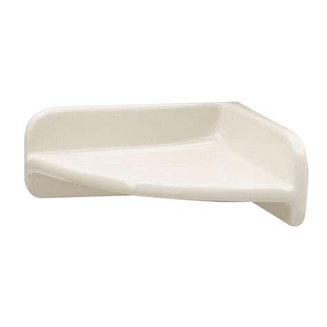 ceramic corner shelf upc 015129170473 lenape bathroom 7 in x 7 in bone ceramic corner shelf bone glaze 170417