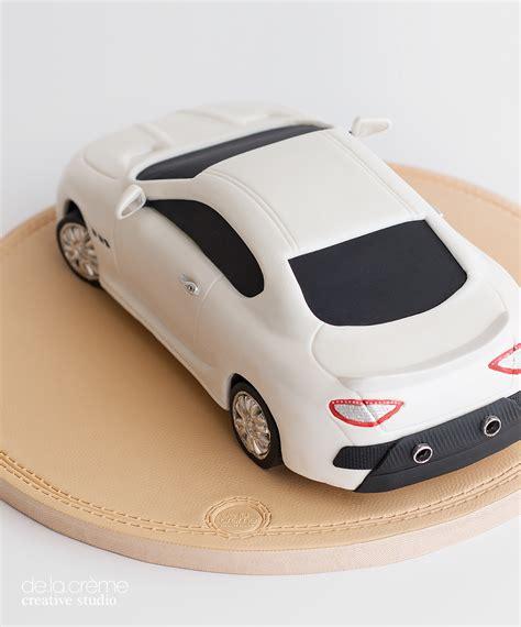 Maserati Car Cake — De La Crème Creative Studio