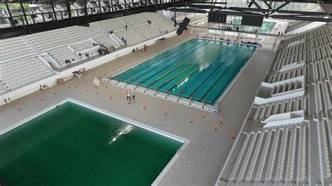 perawatan kolam  stadion akuatik gbk capai rp
