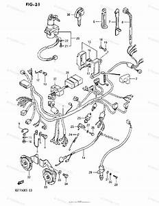 Suzuki Motorcycle 1984 Oem Parts Diagram For Wiring
