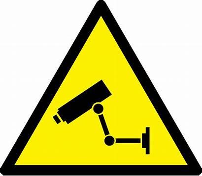Caution Cctv Svg