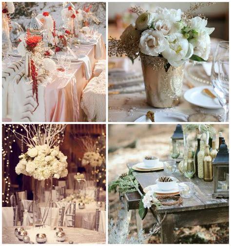 d 233 coration table mariage 50 id 233 es pour le mariage en hiver