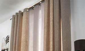 Tendance Rideaux Salon : d co tentures rideaux ~ Premium-room.com Idées de Décoration