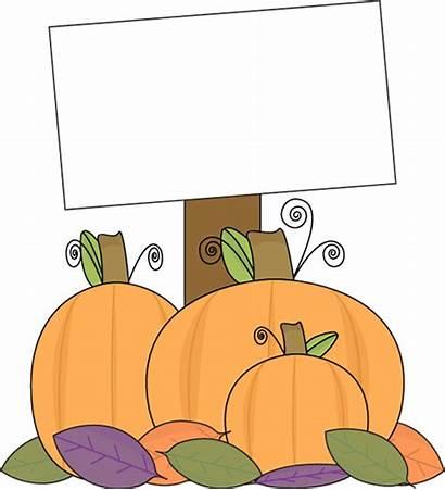 Pumpkin Patch Clip Clipart Fall Blank Halloween