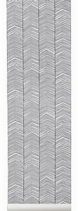 Longueur Rouleau Papier Peint : papier peint herringbone 1 rouleau larg 53 cm noir ~ Premium-room.com Idées de Décoration
