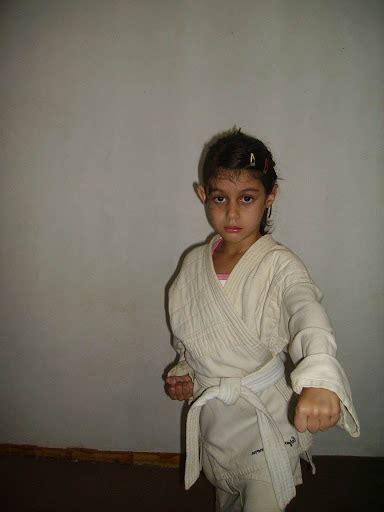 Taekwondo Girls Wearing Uniforms
