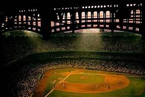 Yankee Stadium at night in 1956 | New York Yankees | Pinterest