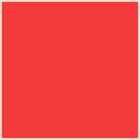 pomegranate color f23a3a hex color rgb 242 58 58 pomegranate