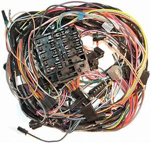1973 Corvette Wiring Harness  Main Dash  Without Factory