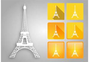 Eiffel Tower Vector Pack - Download Free Vector Art, Stock ...