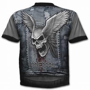 Jeansväst metal