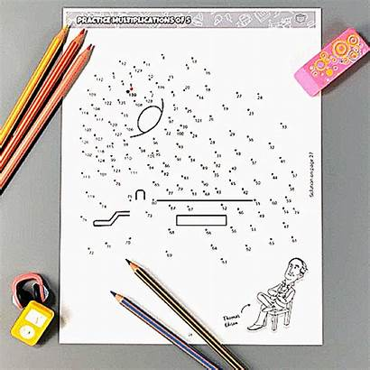 Fun Printable Practice Activity Multiplications Books Bundle