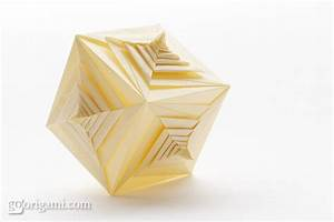Spiral Faced Cube By Tomoko Fuse  U2014 Modular Origami
