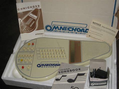 Suzuki Omnichord Om 27 by Suzuki Omnichord Om 27 In Orig Pkg W Ac Manual Songbook