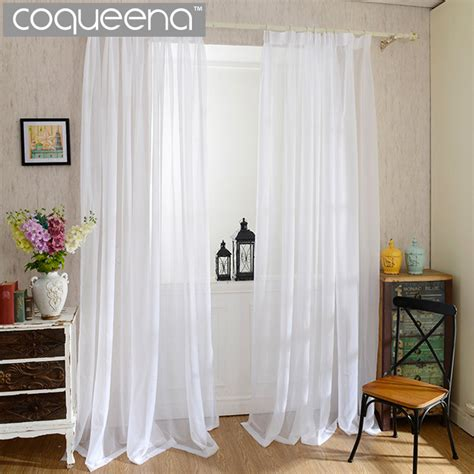 cheap sheer curtains cheap plain white sheer curtains for kitchen living room
