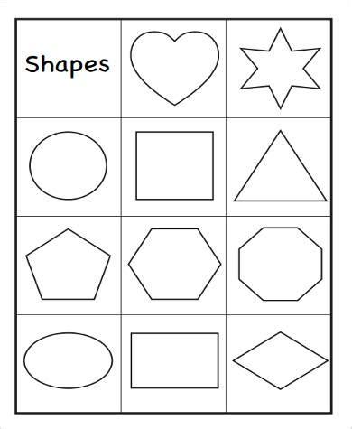 sample printable preschool worksheet templates