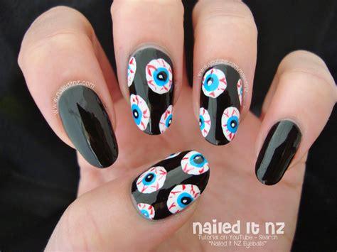 Naff Halloween Nail Art Ideas