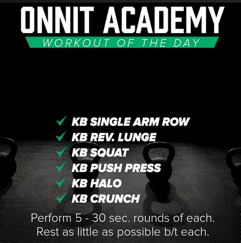 kettlebell workout onnit academy crunch halo rounds sec