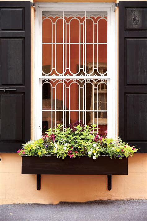 add charm  window boxes southern living