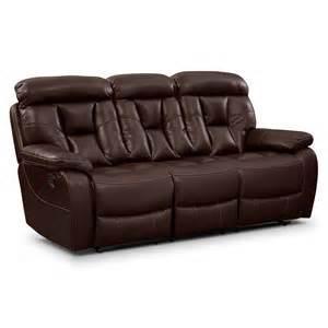 dakota reclining sofa american signature furniture