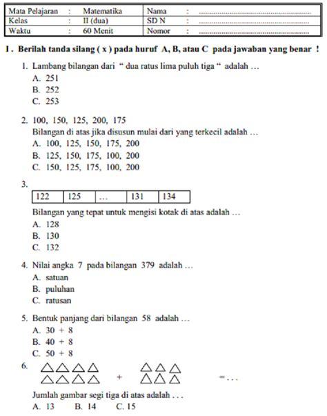 Bilangan bulat (positif dan negative) dan pecahan (biasa, campuran, decimal, persen). Contoh Soal Akm Smp Kelas 8 | Sobat Guru