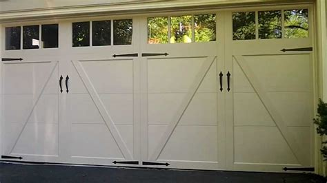 clopay coachman garage door  hinsdaleil  solid color  youtube