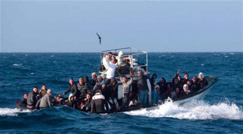 Sinking Boat Tragedy by 41 Migrants Drown In Mediterranean Boat Tragedy The