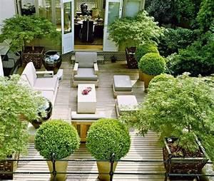 moderne terrassengestaltung 100 bilder und kreative With französischer balkon mit garten terrassengestaltung