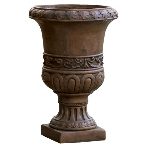 turkish cast stone patio urn christopher knight home