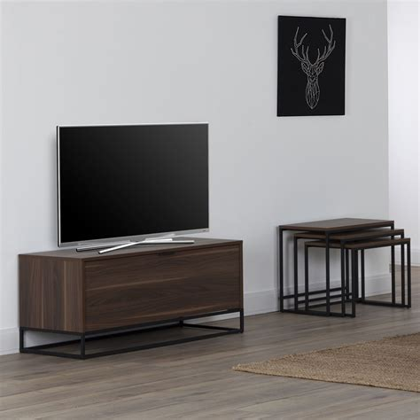 wide kitchen cabinets the wall cube 1100 walnut tv cabinet glass tv stands 1100