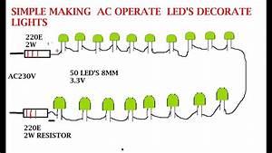 Make Your Own Serial Led Lights For Ac 230v And 120v