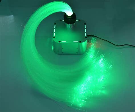 rgb led twinkle plastic fiber optic ceiling light kit