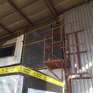 asbestos insulation board removal warehouse cheshire