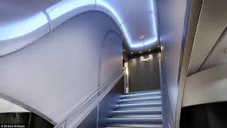 The vast double decker superjumbo planes can theoretically carry up to      Airbus A380 Inside Stairs