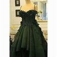 Royal green color dress | Dresses, Colorful dresses, Formal dresses