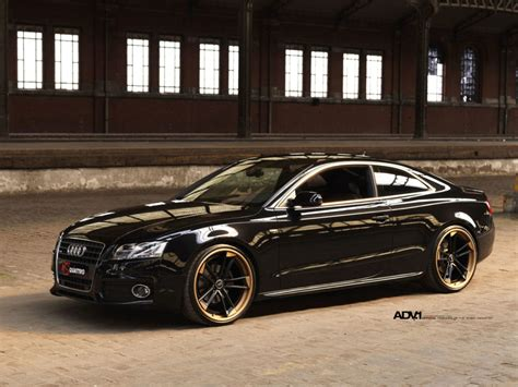 black audi a5 advrsq1 track spec super light matte black
